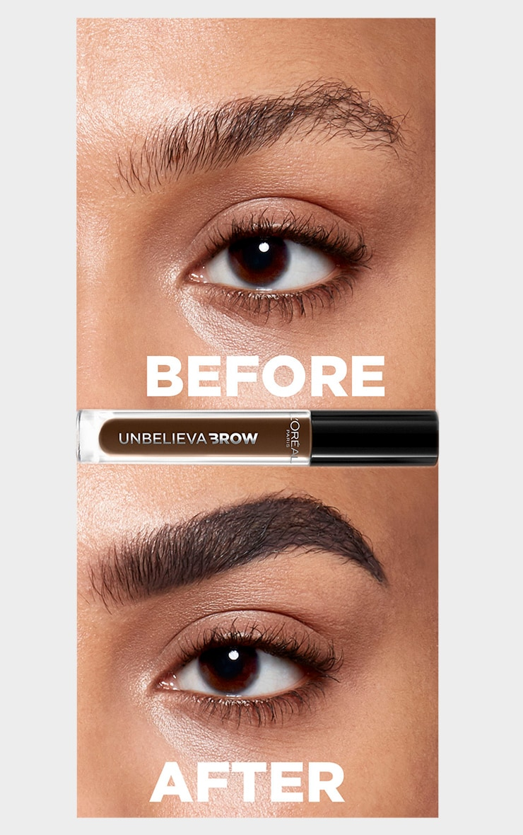 L'Oreal Paris Unbelieva'brow Long-Lasting Brow Gel 108 Dark Brunette 3