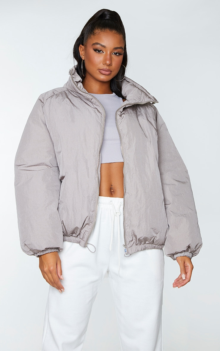 Grey Extreme Oversized Puffer Jacket 3
