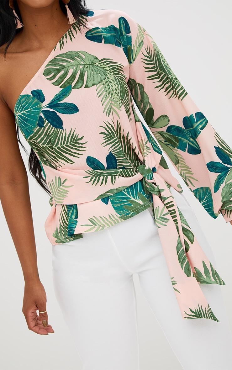 Shape Tropical One Shoulder Top 5