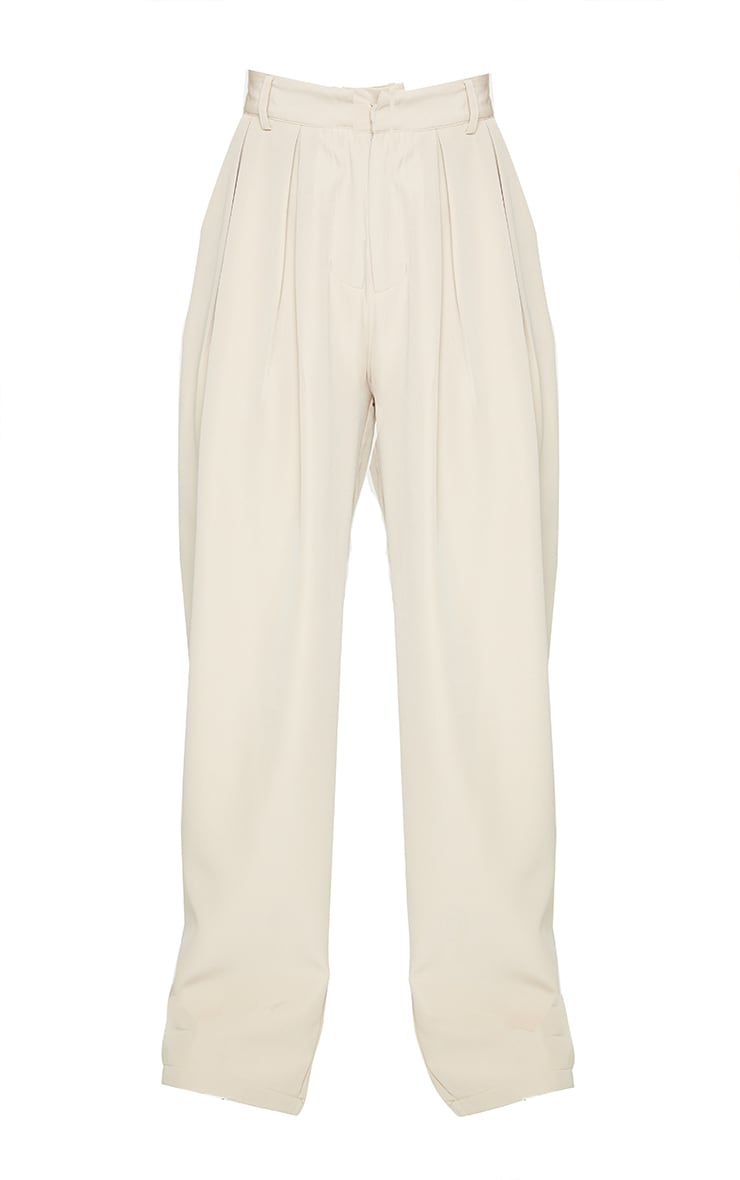 Stone Woven High Waisted Cigarette Pant 5