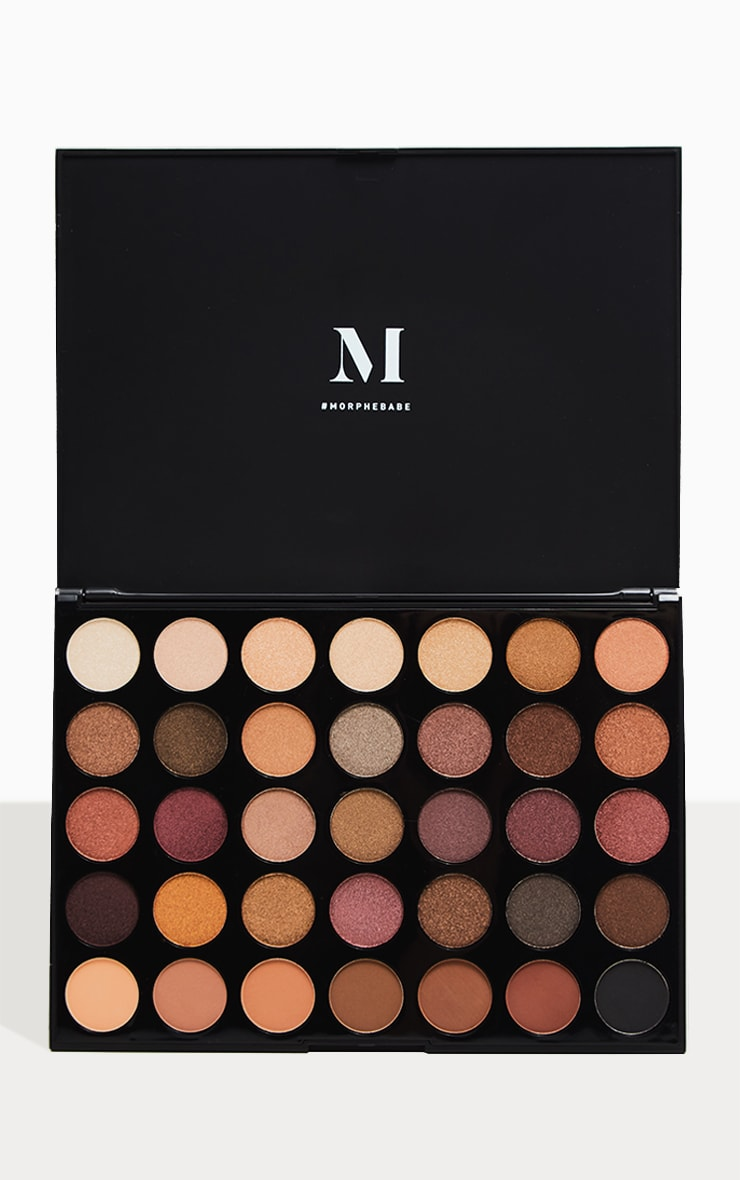Morphe 35f Fall Into Frost Eyeshadow Palette 1