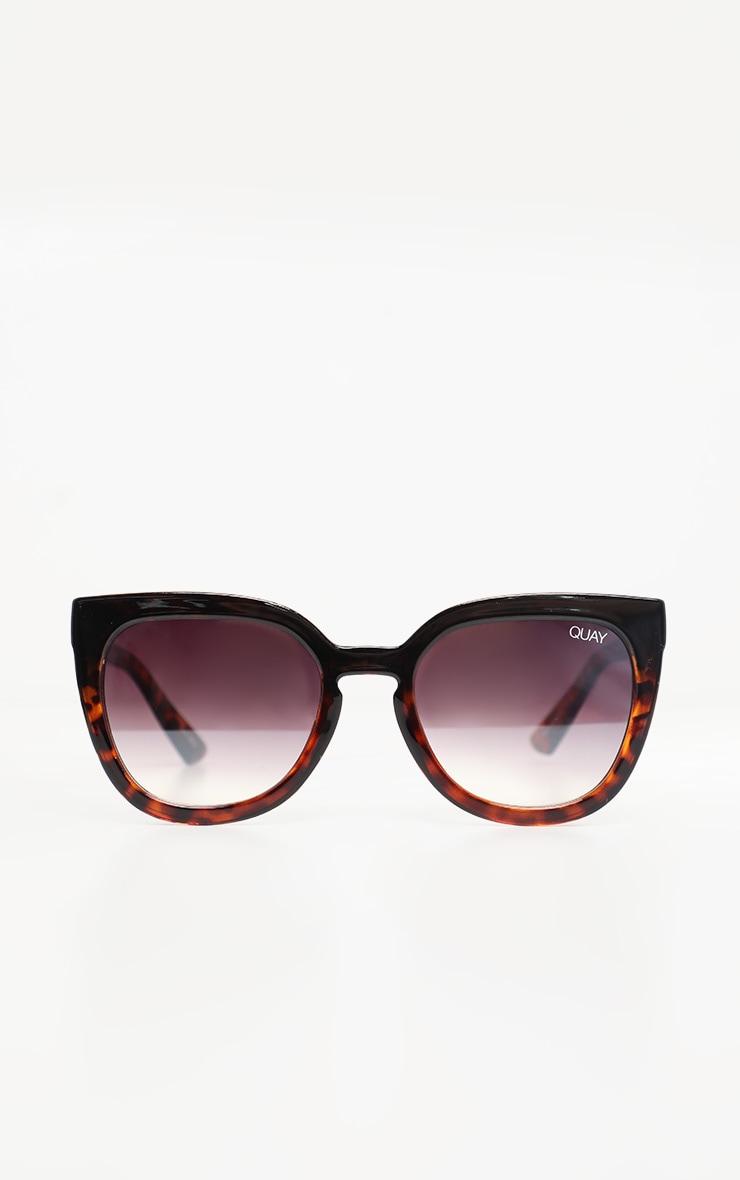 QUAY AUSTRALIA Black Tortoiseshell Noosa Sunglasses 2