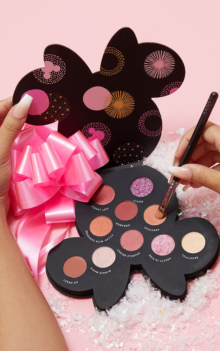 Disney Minnie Magic Eyeshadow Palette by Prettylittlething