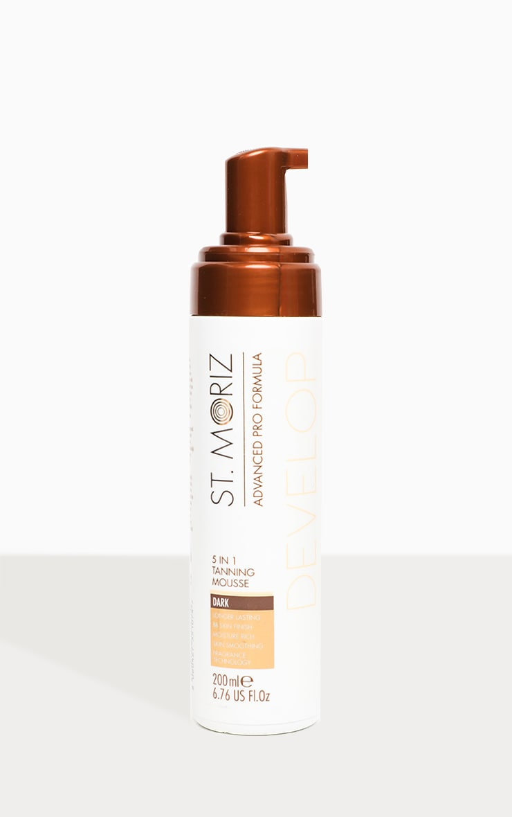 St. Moriz Advanced Professional 5 in 1 Tanning Mousse Dark 2