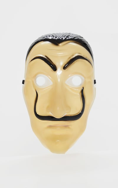 Novelty Male Face Halloween Mask