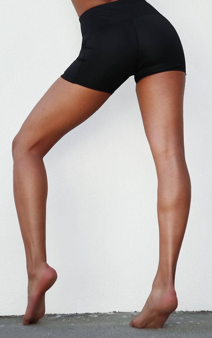 Black Side Pocket Booty Short 3