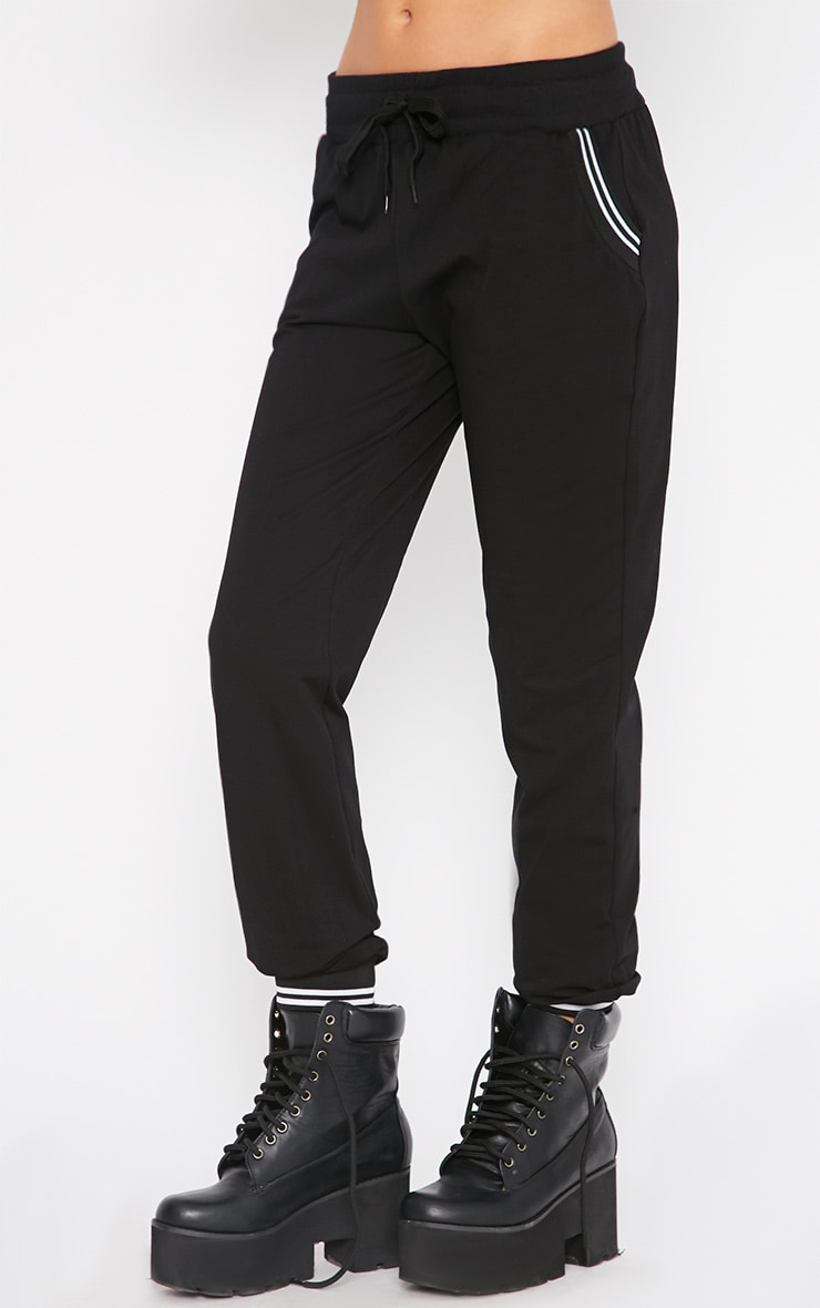 Juniper Black Sports Trim Jogger 5