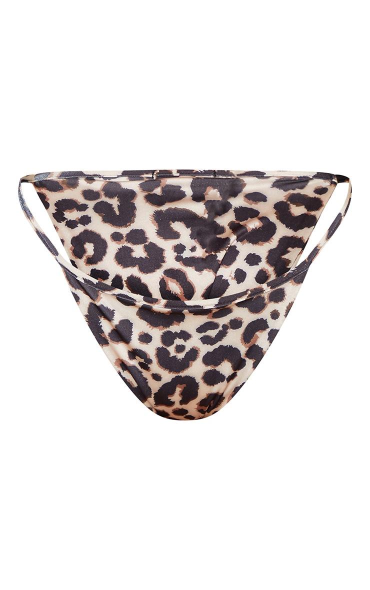 Petite Itsy Bitsy Leopard Print Bikini Bottom 3