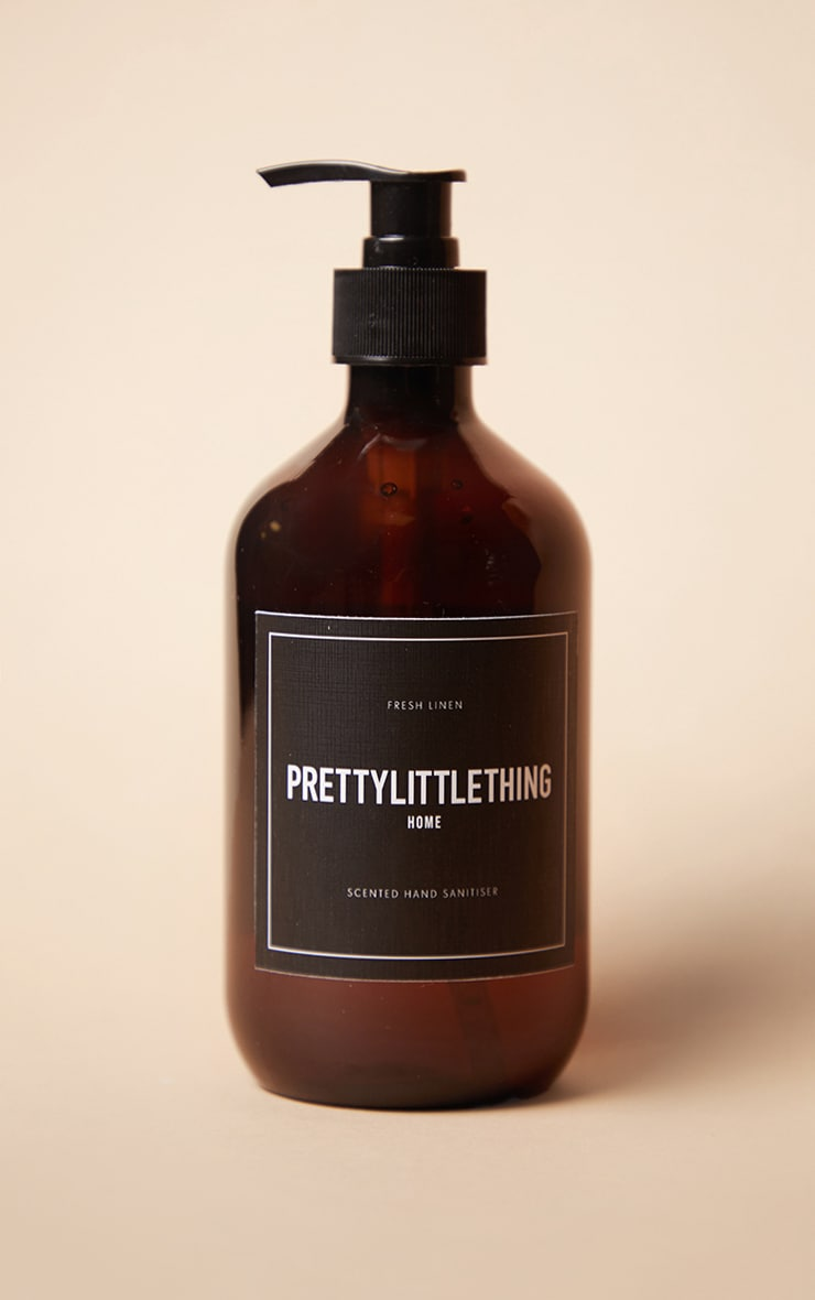 PRETTYLITTLETHING Fresh Linen Hand Sanitiser 500ml 3