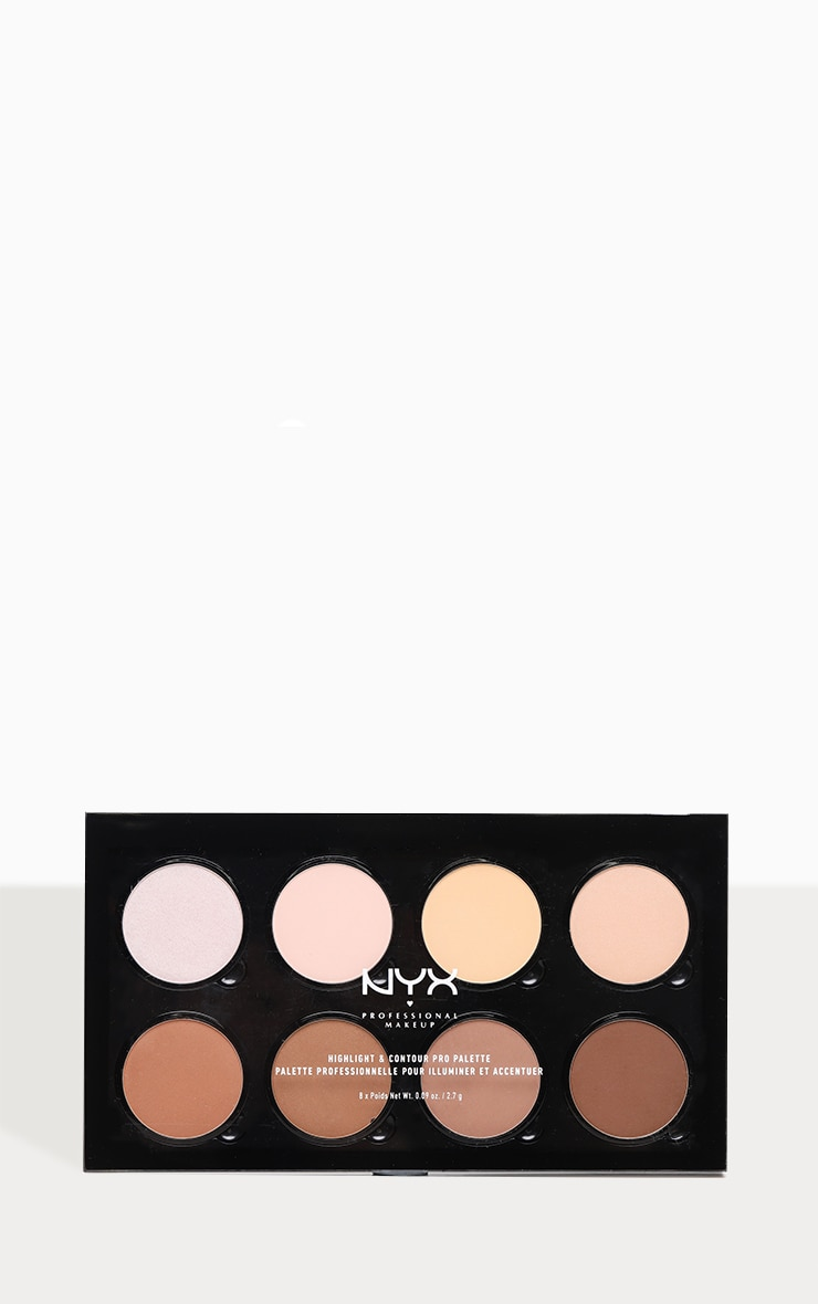 NYX Professional Makeup Highlight & Contour Pro Palette  2