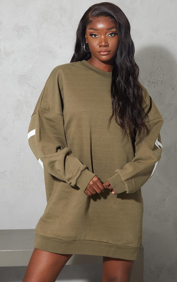 Tall Sage Atlanta Georgia  Graphic Sweatshirt Dress 2