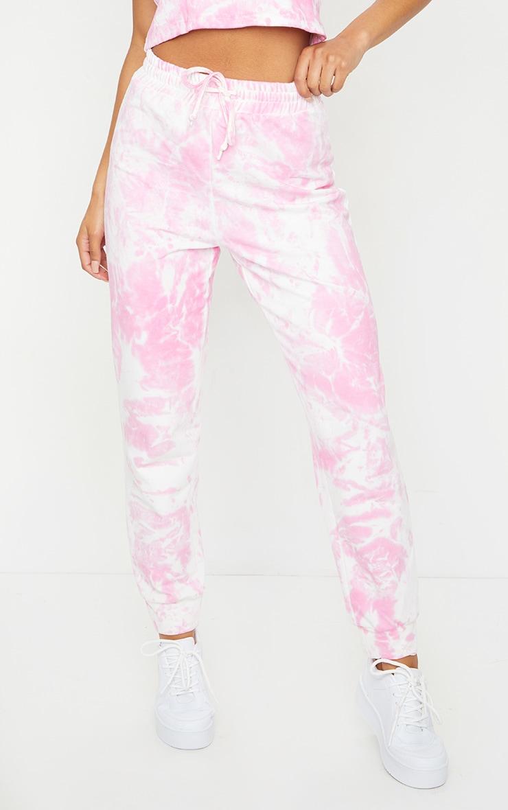 Pink Tie Dye Joggers 2