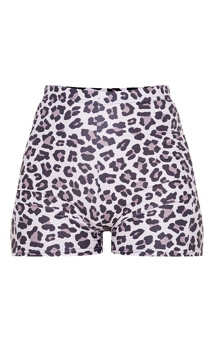 Leopard Booty Gym Short 3