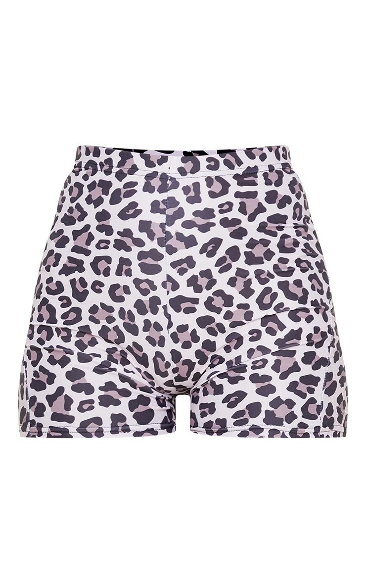 Leopard Booty Gym Short 3