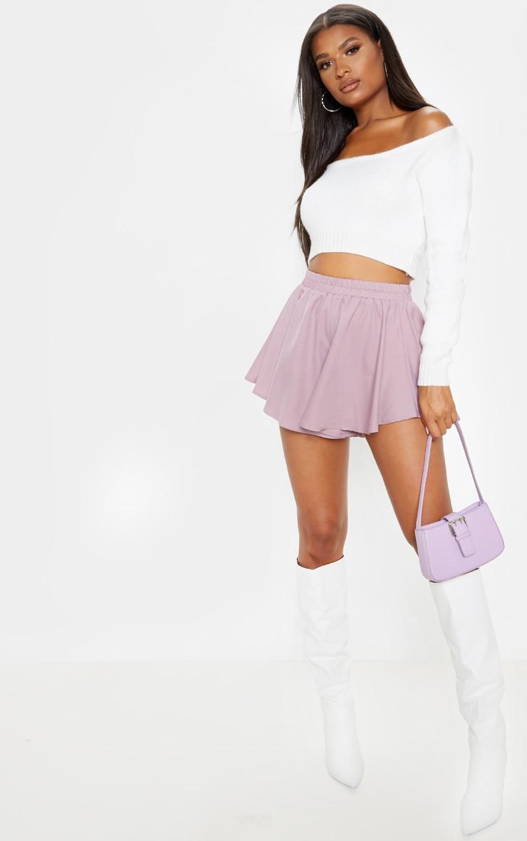 Dusty Lilac Floaty Shorts 1