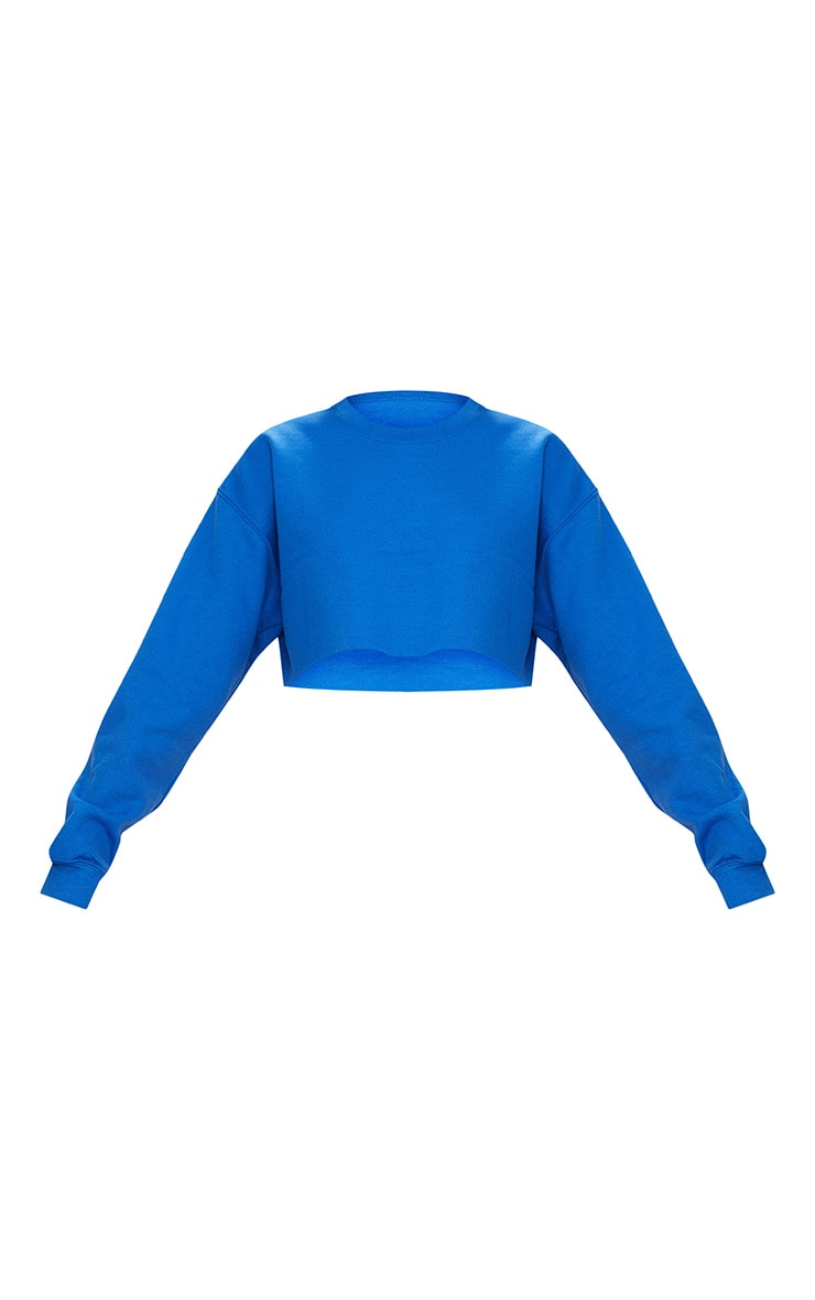 Royal Blue Ultimate Cropped Sweater 3