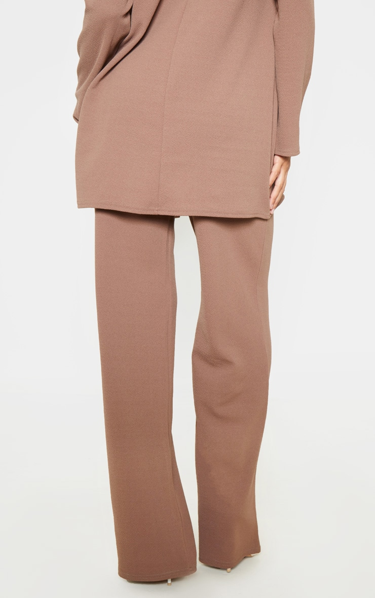Camel Wide Leg Pants 4