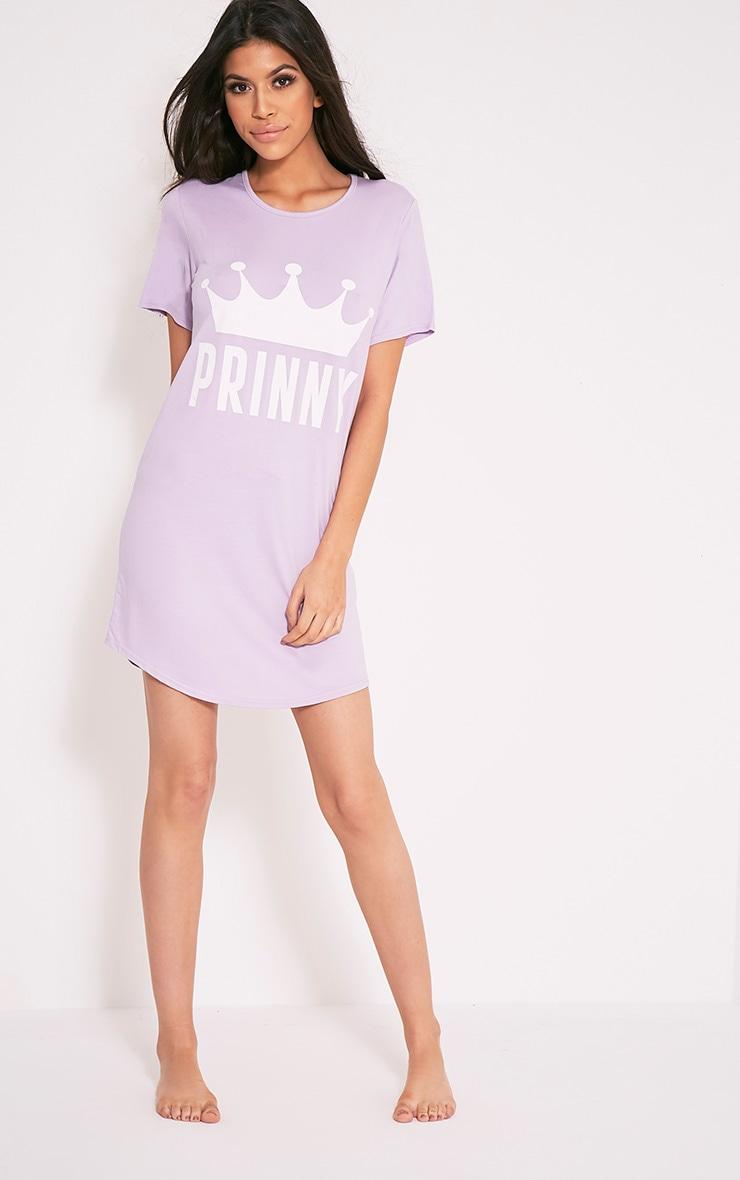 Prinny Lilac Oversized Nightie 10
