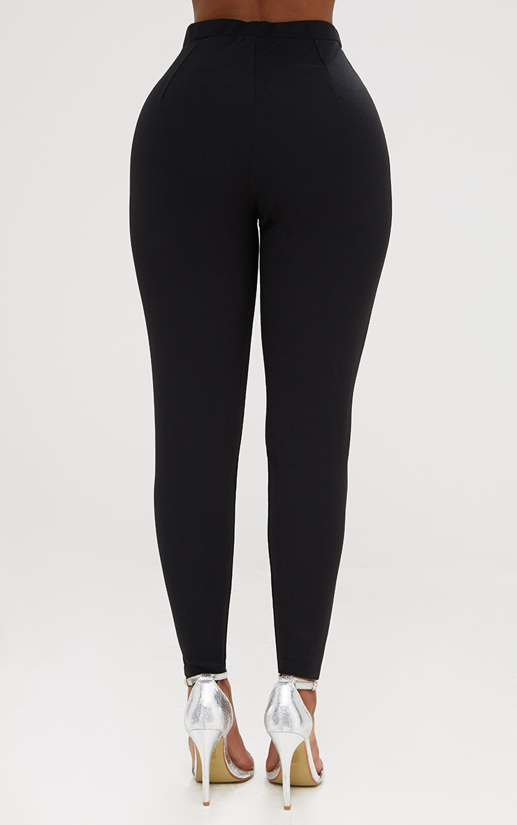 Shape Black Fitted Trousers 4