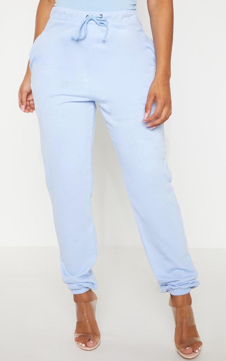 Shape Dusty Blue Skinny Drawstring Track Pants 2
