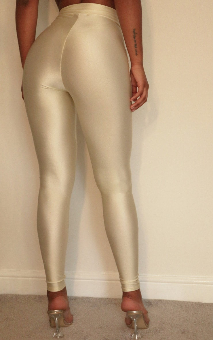 Cream Disco Pants 3