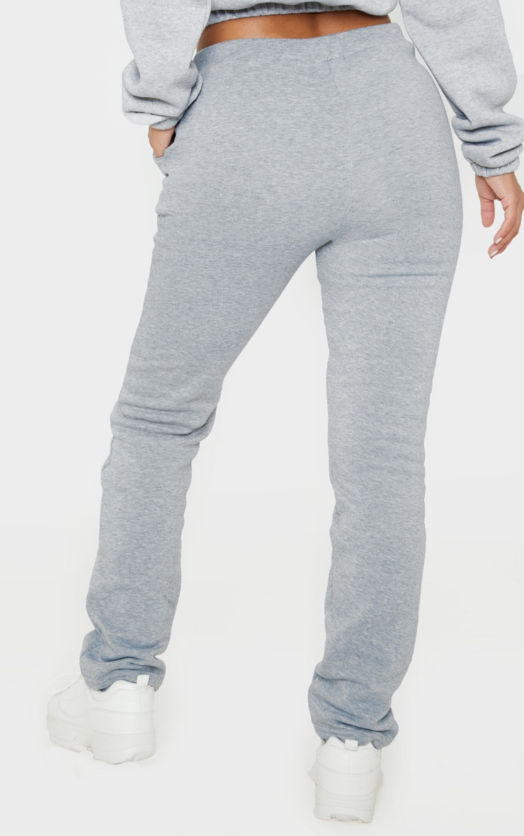 Petite Grey Oversized Sweat Jogger 4