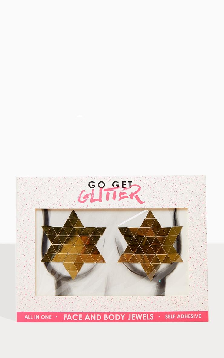 Go Get Glitter Gold Mirror Boob Jewels 1