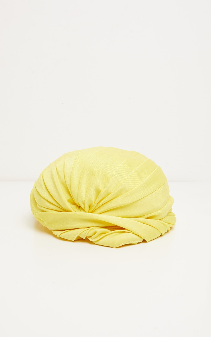 Yellow Knotted Turban 3