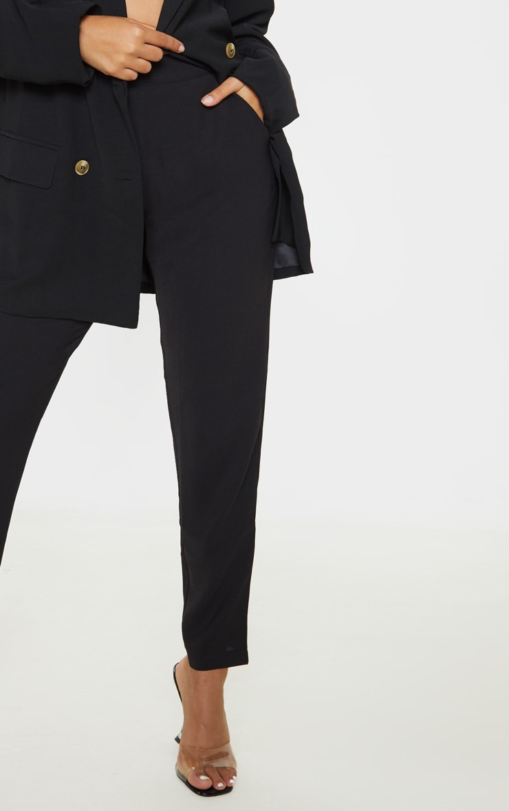 Petite Black Tailored Pants  5