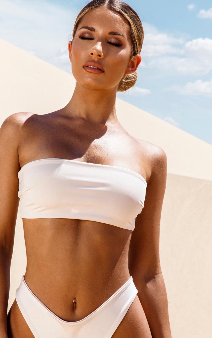 Nude Bandeau Bikini Top 5