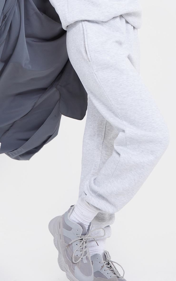 Tall Grey Ultimate Marl Sweat Joggers 4