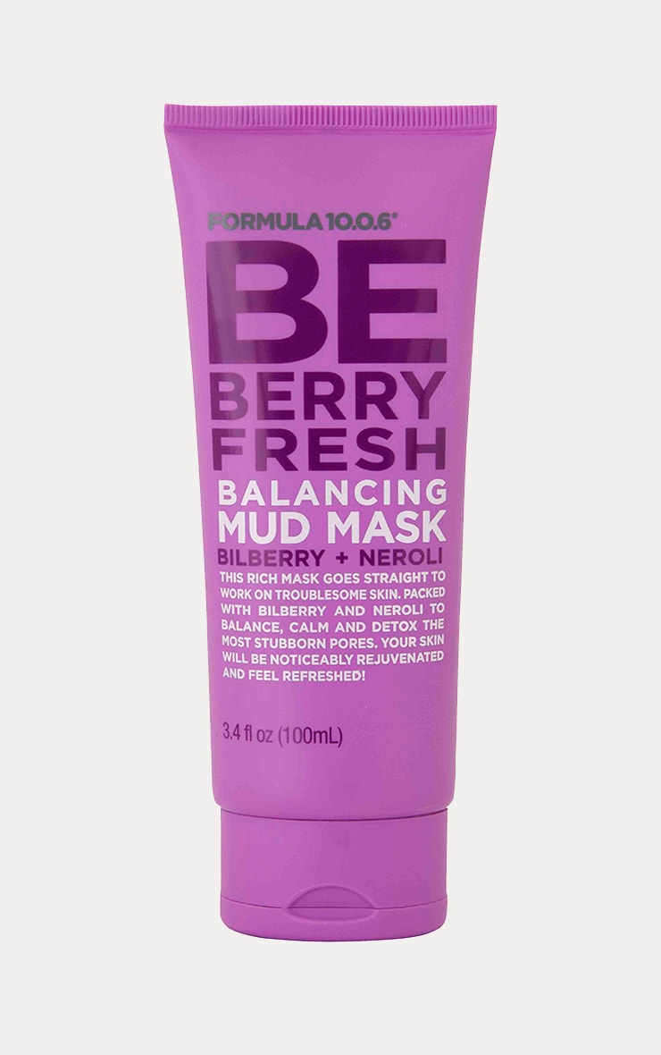 Formula 10.0.6 BE BERRY Fresh Balancing Mud Mask 1
