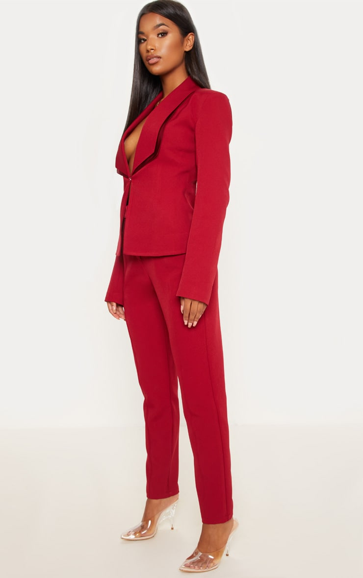 Red Suit Pants  1