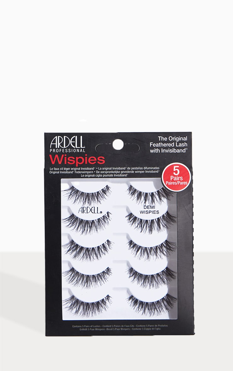 Ardell Multipack of 5 Demi Wispies Multipack 1