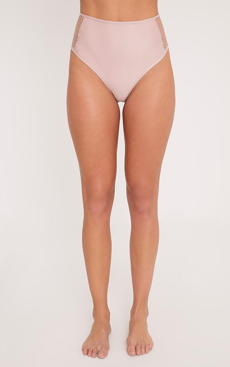 Meeya Pink Fishnet Bikini Bottoms 2