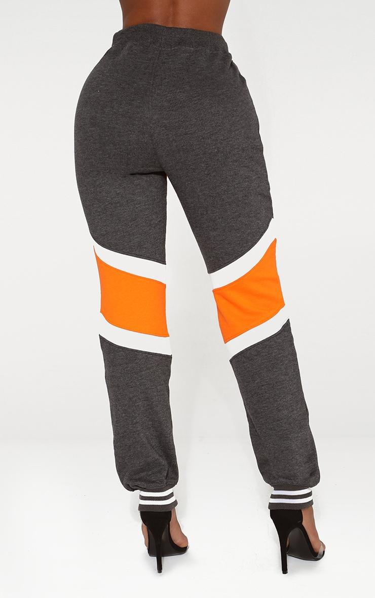 Shape Orange Caution Contrast Joggers 4