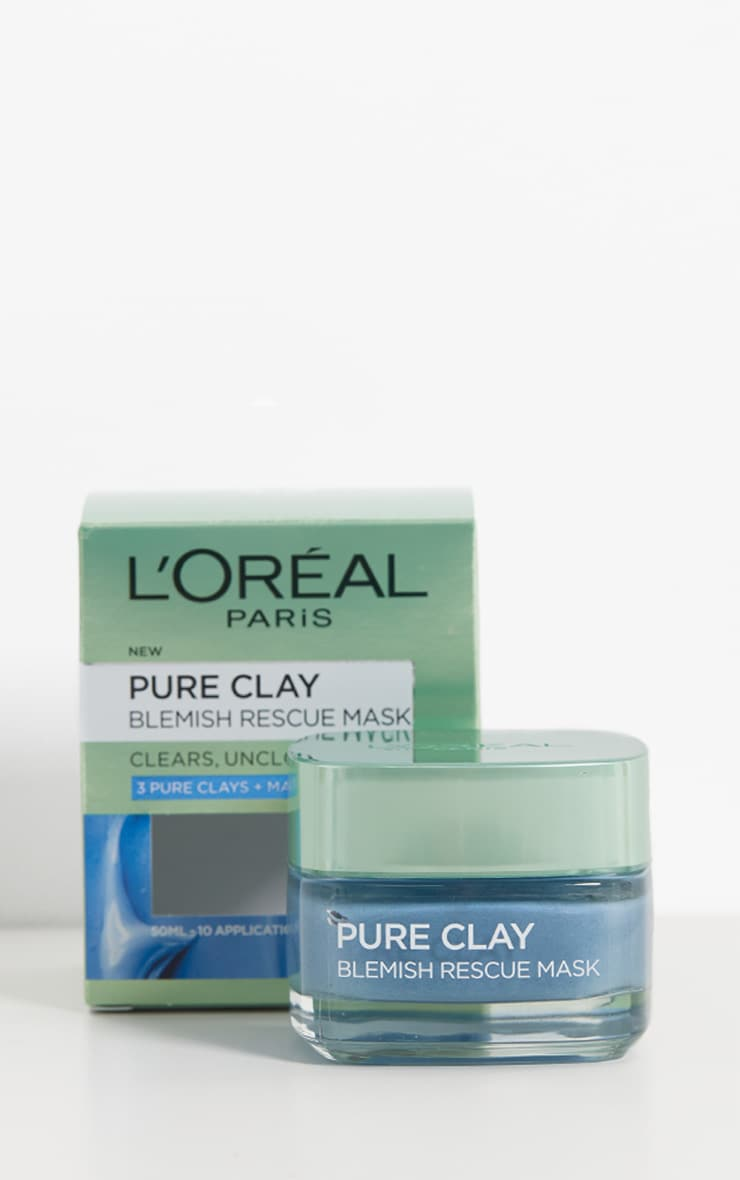 Masque LOréal Paris - Pure Clay - Blemish Rescue Mask 2