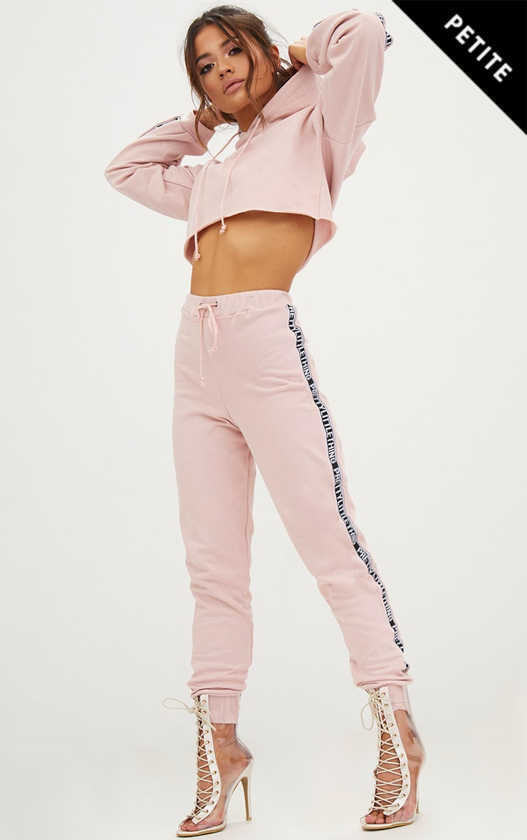 PRETTYLITTLETHING Petite Rose Joggers