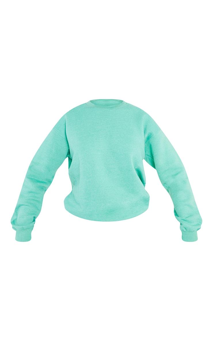 Tall Sage Green Ultimate Oversized Sweatshirt 5