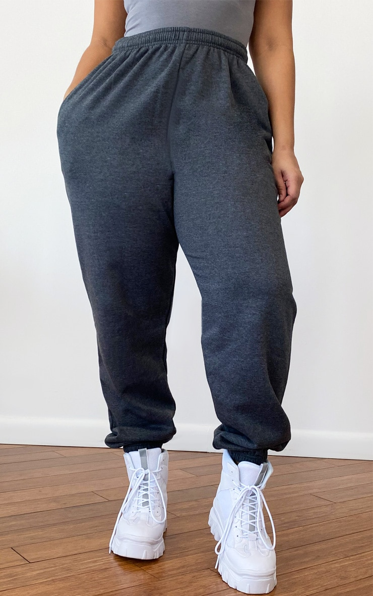 Plus Charcoal Casual Jogger 2