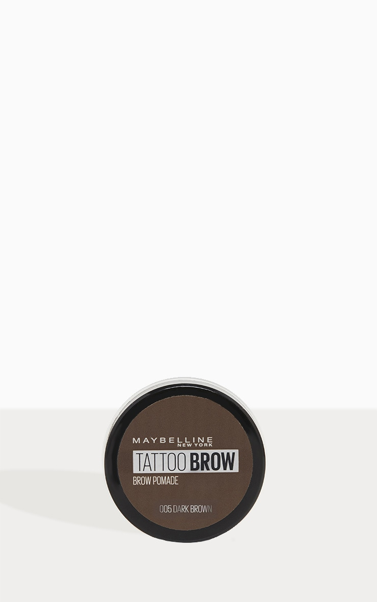 Maybelline Tattoo Brow Pomade Pot Dark Brown 2