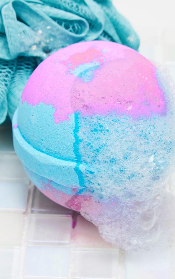 miss patisserie calm amethyst & lavender bath ball