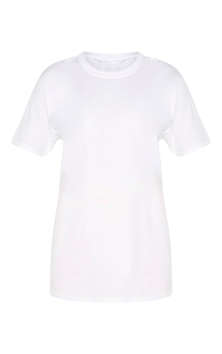 White Calabasas 1986 Slogan Oversized T Shirt 3