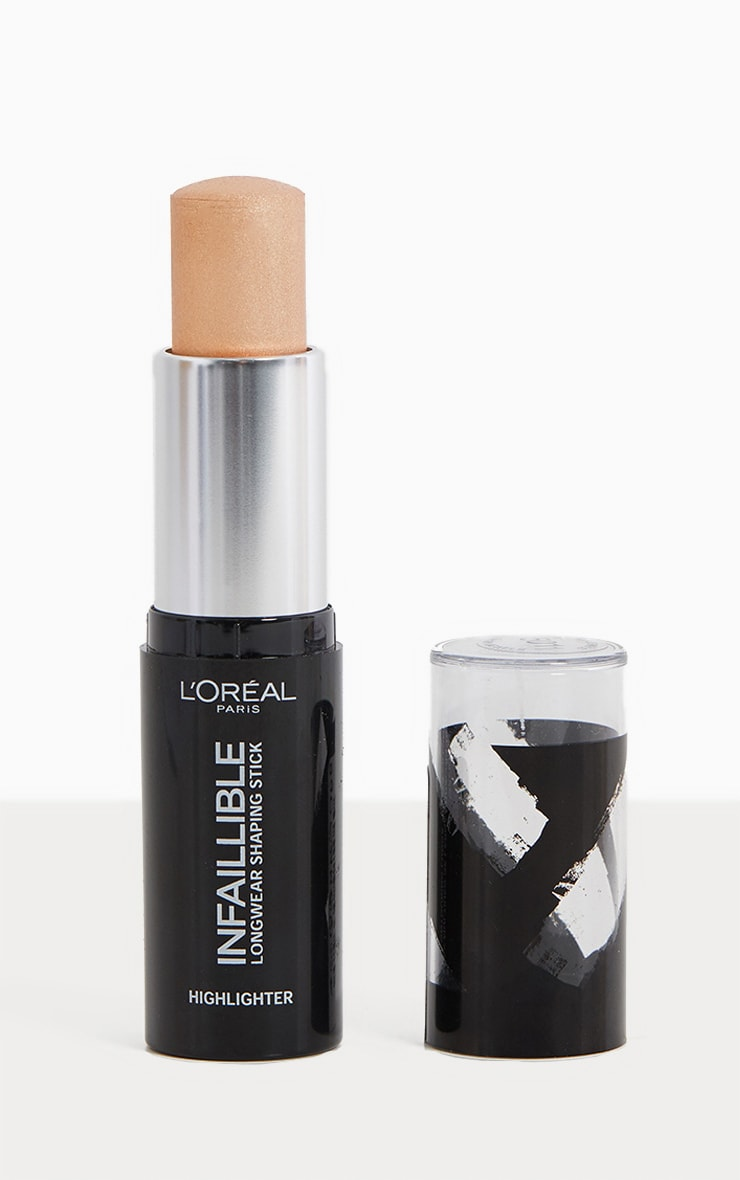 L'Oréal Paris Infallible Stobe Highlight Stick 502 Gold Is Cold 1