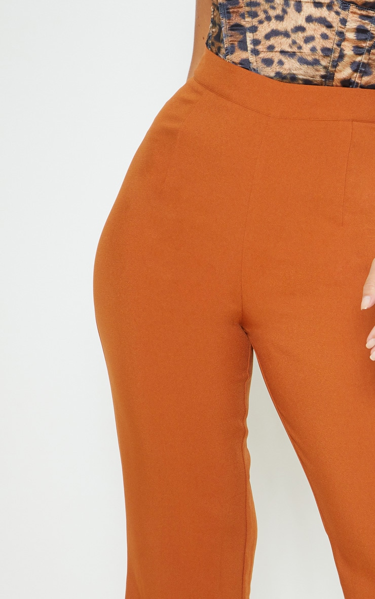Chestnut Flare Tailored Pants 5