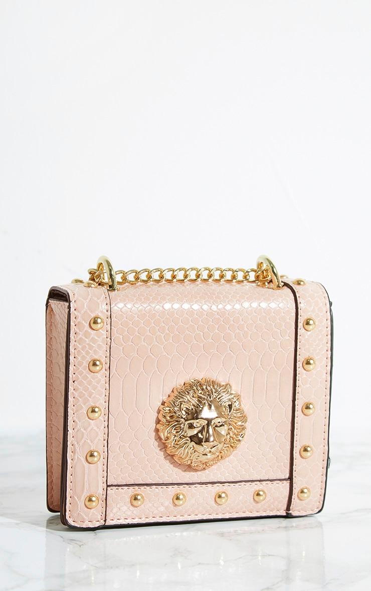 Nude Lion Stud Chain Bum Bag 3