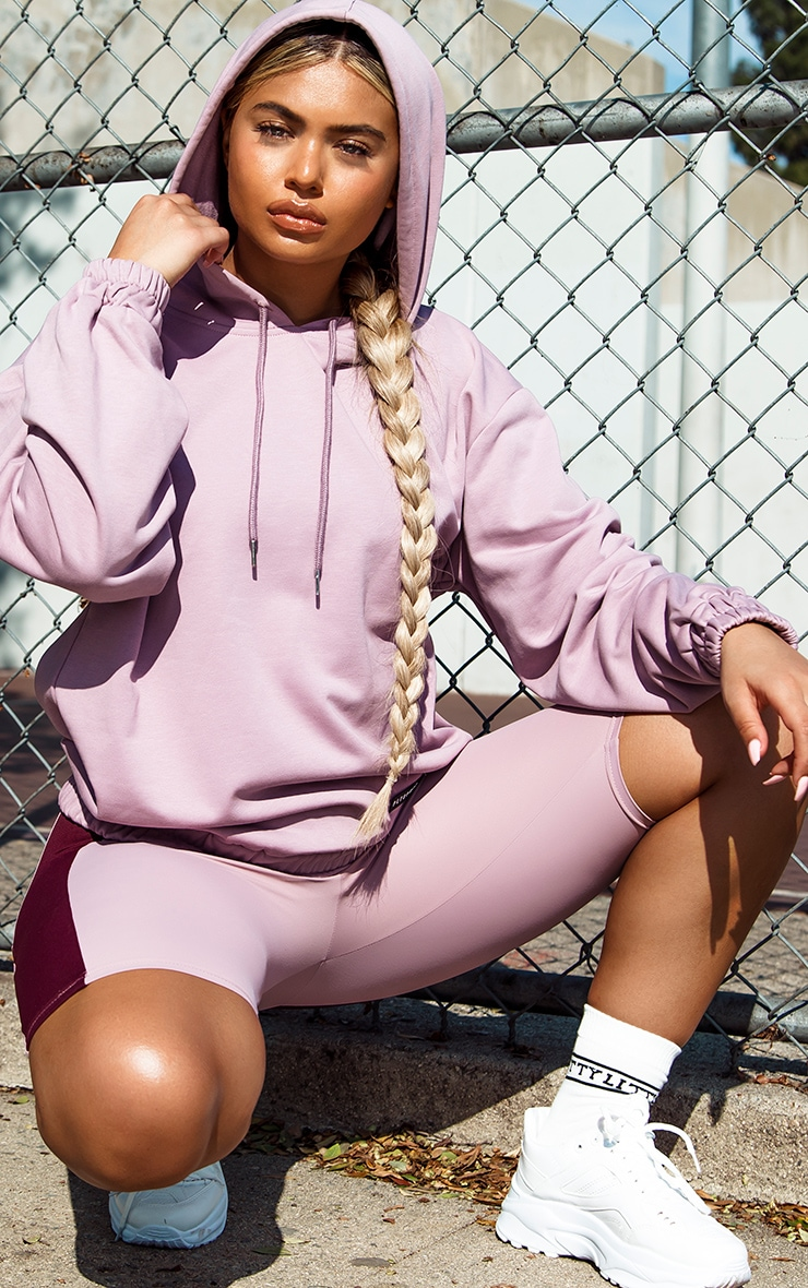 PRETTYLITTLETHING Lilac Sport Sweat