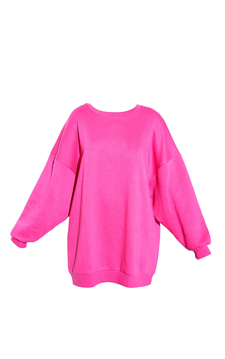 RENEW Pink Oversized Jumper Dress 5