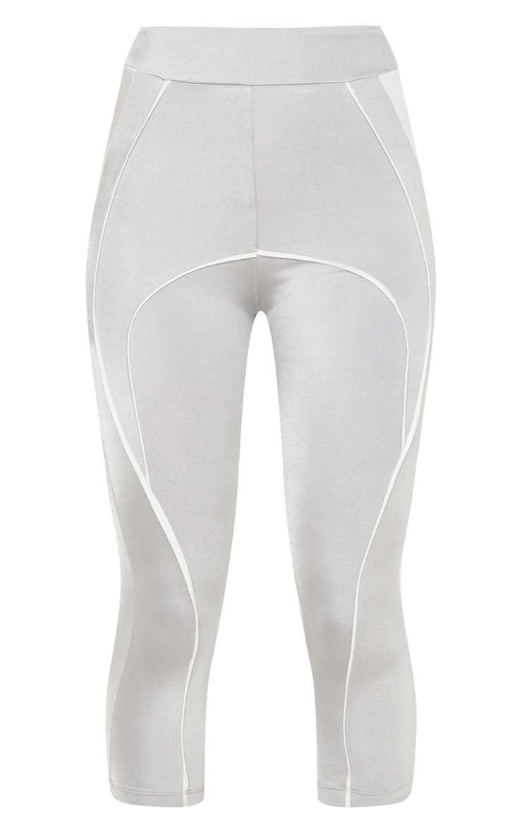 Grey Contrast Legging 3