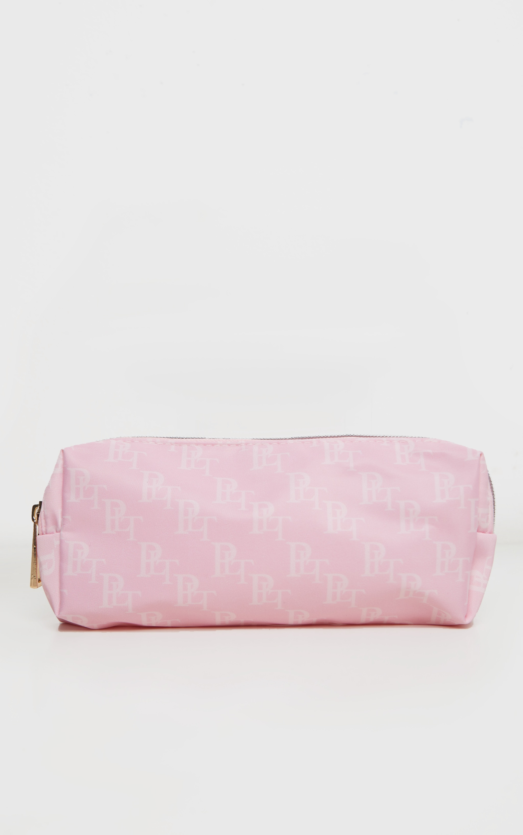 PRETTYLITTLETHING Logo Pink Pencil Case 2